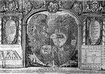 alte Ansicht der ehemaligen Klosteranlage